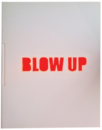 Blow up, el libro